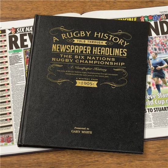 Rugby Newspaper Books